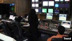Iran televiziya studiyas;