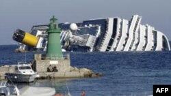 İtaliyada batmış gəmidən sağ qalmış daha bir adam xilas edilib (YENİLƏNİB)