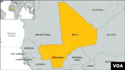 ແຜນທີ່ ປະເທດ Mali, Africa