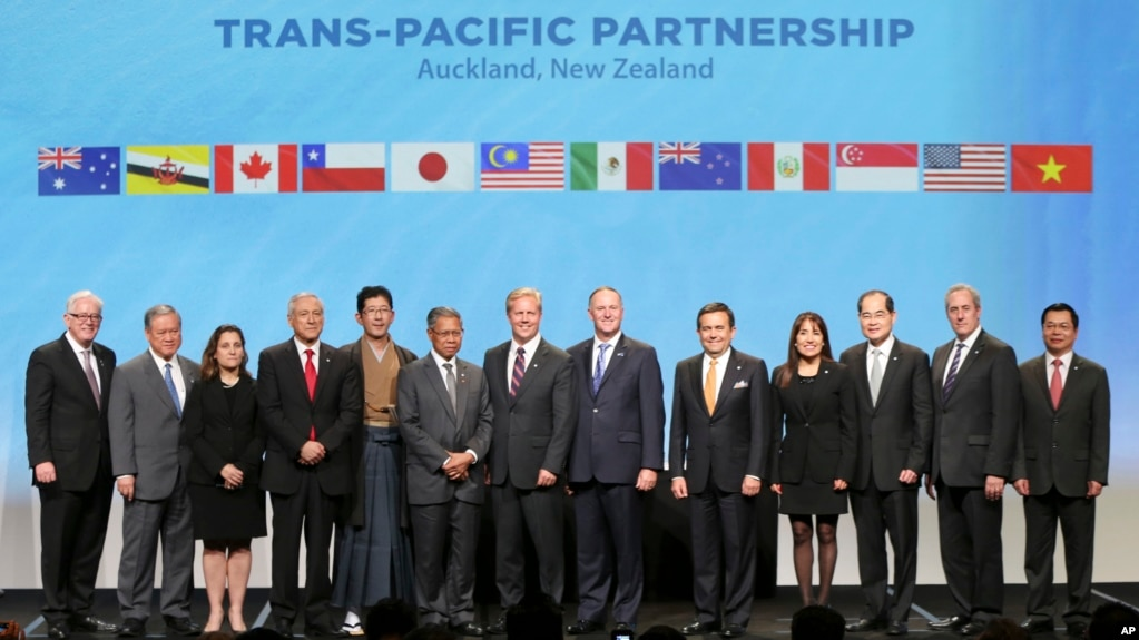40 Of Worlds Economy Signs Tpp Trade Deal