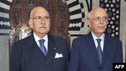 Tổng thống Mebazza và Thủ tướng Ghannouchi đã bỏ đảng Tập Hợp Dân Chủ Hiến Pháp của Tổng thống đã bị lật đổ