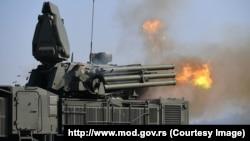 "Ruski raketni sistem ""Pancir S"", ilustrativna fotografija (Foto: Ministarstvo odbrane Srbije)"