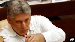 米盖尔·迪亚斯-卡内尔星期四成为古巴新总统