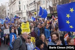 Preko milion Britanaca na ulicama Londona demonstriralo je protiv Bregzita, 23. marta 2019.