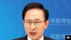 이명박 한국 대통령