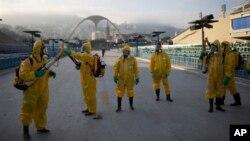 نیروهای امدادی وزارت بهداشت در حال آمادگی برای از بین بردن پشه های حامل ویروس زیکا