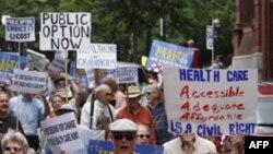 Демонстрации направленные против принятия реформы здравоохранения