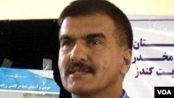 ابراهیم اظهر، معین مالی و برنامه ریزی وزارت مبارزه با مواد مخدر افغانستان