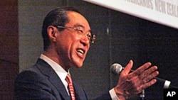 香港特区政务司司长唐英年(资料照片)