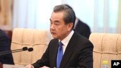 တရုတ္ ႏုိင္ငံျခားေရး၀န္ႀကီး Wang Yi