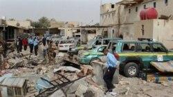 کشته شدن ۲۱ تن در حملات انتحاری در عراق