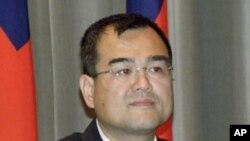 被視為總統馬英九親信的前台灣行政院秘書長林益世(圖)貪腐案獲輕判﹐在台灣引發爭議。