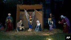 纪念耶稣基督诞生的圣诞节景致