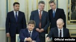 Підписання угоди у Києві. 3 червня.