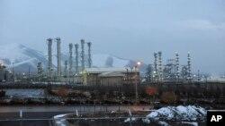 이란 아라크에 있는 중수로 핵 시설.