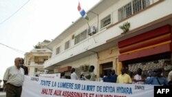 Wata zanga zangar adawa da muzantawa 'yan jarida a kasar Gambiya