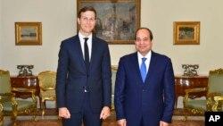 Джаред Кушнер і президент Єгипту Абдул Фаттах аль-Сисі