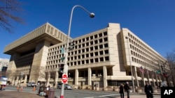 FILE - The Federal Bureau of Investigation (FBI) headquarters in Washington.