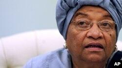 Liberia's President Ellen Johnson Sirleaf (file)