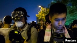 Protests Continue in Hong Kong – Thursday, Oct. 2