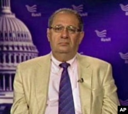 Theodore Kattouf, President and CEO of the Washington-based nonprofit Amideast and former US Ambassador to Syria (file photo)