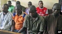 Wasu 'yan kungiyar Boko Haram da aka capke
