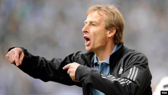 Huấn luyện viên trưởng đội tuyển quốc gia nam Hoa Kỳ Jurgen Klinsmann