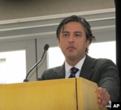 University of California Associate Professor Reza Aslan says political participation has the power to moderate radical tendencies.