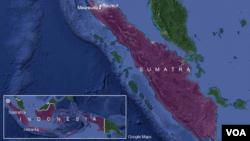 Epicentar zemljotresa na severu Sumatre u Indoneziji, 7. decembar 2016.