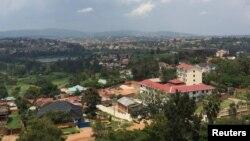 Vue sur la capitale du Rwanda, Kigali, le 26 mars 2014.