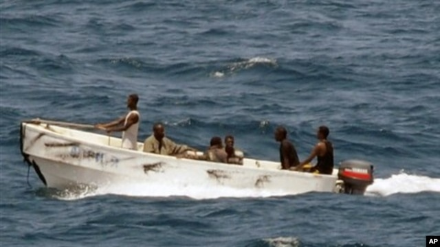 FILE - Somali pirates