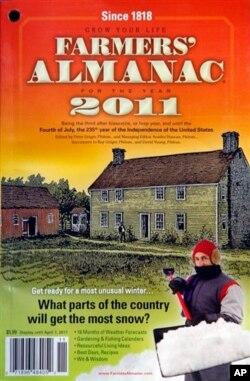 2011年的《农民年鉴》。缅因的《农民年鉴》及其竞争者新英格兰的《老农民年鉴》在互联网和移动通讯时代仍然拥有大群的忠实粉丝。