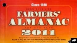 Излегува веќе 197 години: од насловната страница на Фармерскиот алманах за 2011-та