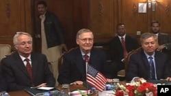 امریکی سینیٹ کے وفد کی پاکستانی سیکرٹری خارجہ سے ملاقات
