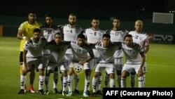 تیم ملی فوتبال افغانستان در رقابت با تیم مالدیف