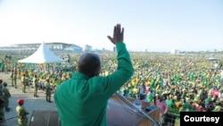 Rais Magufuli akizindua kampeni yake ya uchaguzi Tanzania, August 29, 2020