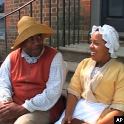 These interpreters give voice to half of Williamsburg's 18th-century population: slaves of African origin.