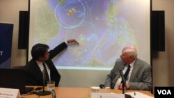 华盛顿东西中心讨论南中国海问题 (美国之音 钟辰芳拍摄)