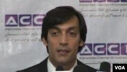 قربان حقجو، مدیر عامل اتاق های تجارت افغانستان