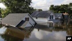 Καταστροφικές πλημμύρες στην Βόρεια Ντακότα