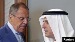 Rusya Dışişleri Bakanı Sergei Lavrov, Suudi mevkidaşı Adil el Cübeyr'le