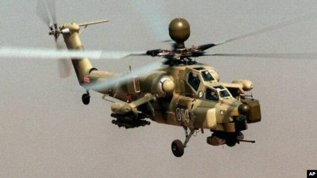 Îraq 30 helîkopterên şerî li cûrê Mi-28 li Rûsyayê dikire.