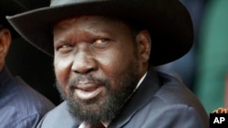 Shugaban Sudan ta Kudu Salva Kiir