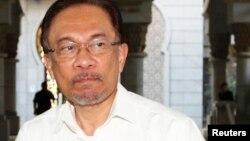 马来西亚反对党领袖安瓦尔