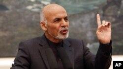Presiden Afghanistan, Ashraf Ghani mengutuk serangan terhadap sasaran warga sipil.