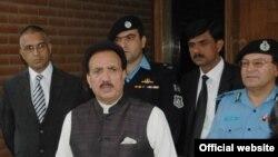 وفاقی وزیر داخلہ رحمن ملک