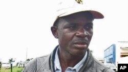 Evaristo Hosse, secretário comunal da UNITA no Alto Hama, província do Huambo