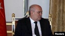 Feridun Sinirlioglu, le minstre Turque des affaires étrangères