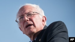 FILE - Bernie Sanders, shown in May 2015, is an independent senator who sought the Democratic Party's nomination for president.