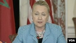 Secretary Clinton Condemns Violent Protests, Offensive Video